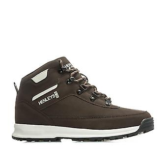 Men's Henleys Travis Boots in Brown