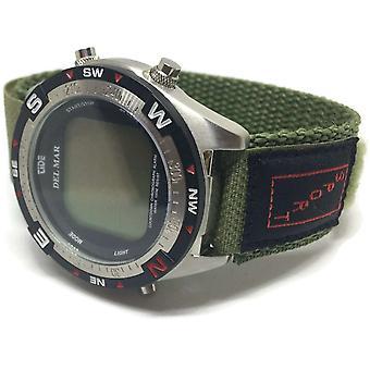 Velcro Armband khaki 20mm Nylon Sport