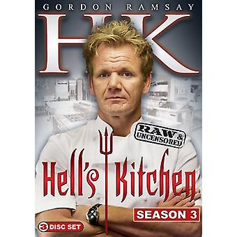 Hell's Kitchen - Hell's Kitchen: Season 3 Raw & Uncensored [DVD] USA import