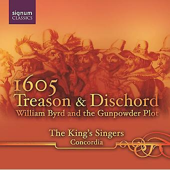W. Byrd - 1605: Treason & Discord [CD] USA import