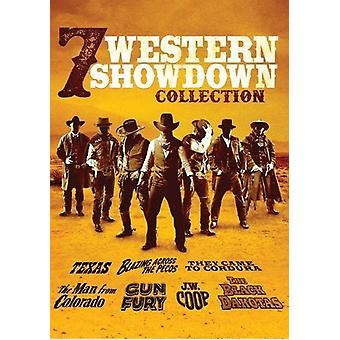 7 Western Showdown: Texas / Jw Coop / They Came to [DVD] USA import