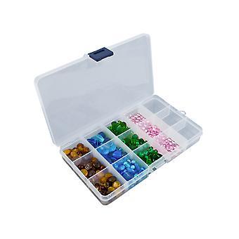 Plastic Organiser, 15 Compartment Organiser, 17.5cm X 10.0cm X 2.2cm