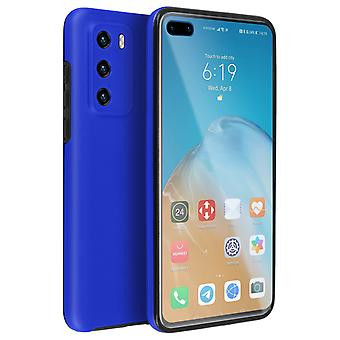 Cover Huawei P40 Hard Back + Soft Front Protection Blue