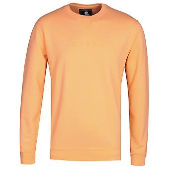 Edwin Cantaloupe Orange Katakana Sweatshirt