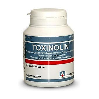 Toxinolin 90 capsules of 600mg