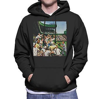 The Saturday Evening Post Baseball Catch Men's Hooded Sweatshirt