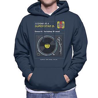 Haynes Superstar DJ Owners Workshop Manual Men's Hooded Sweatshirt