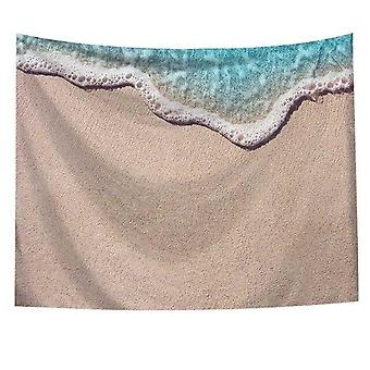Sea Waves arte colgante pared Tapiz - Home Decor Yoga Toalla de playa