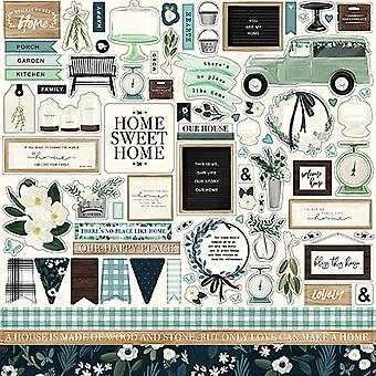 Carta Bella Home Again 12x12 Inch Element Sticker