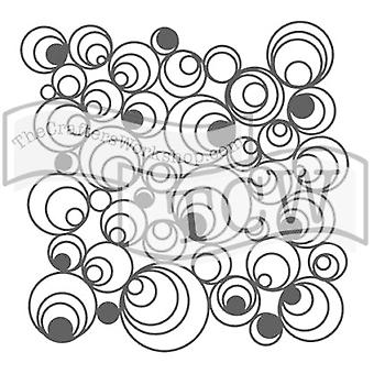 The Crafter's Workshop Mod Spirals 6x6 Inch Stencil