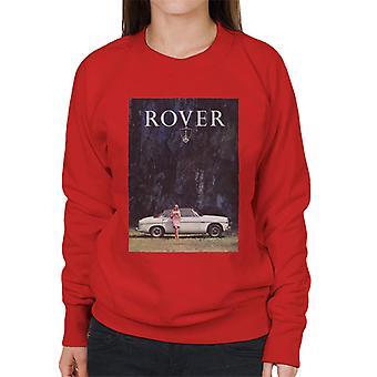 Rover Poster Design British Motor Heritage Women's Sweatshirt