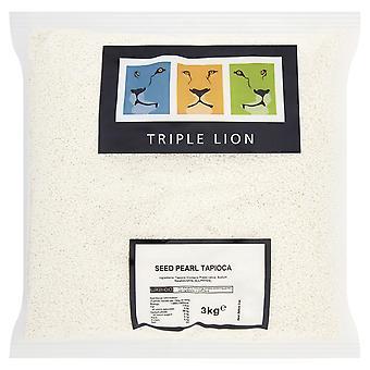 Triple Lion Seed Pearl Tapioca