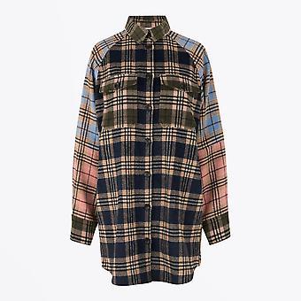 Munthe  - Luxor - Checked Shirt Jacket - Multi