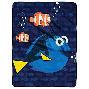 Fleece Throws Disney's Finding Dory Bubbles In Water 45x60