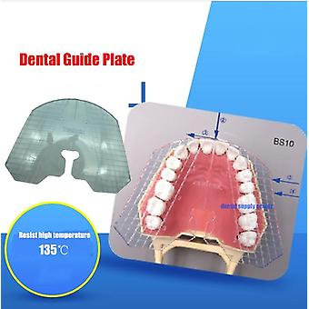 1pcs Dental Lab, Dental Guide Plate Teeth Arrangement On Denture Work