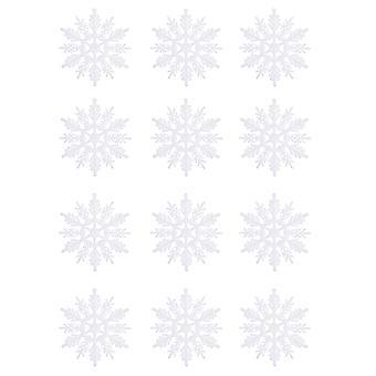 YANGFAN عيد الميلاد البلاستيك بريق الثلج الحلي مجموعة