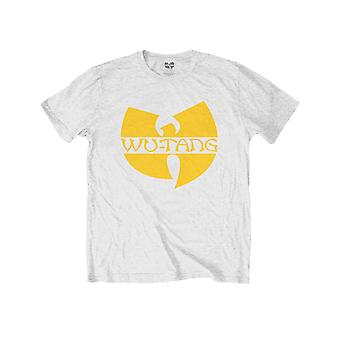 Wu Tang Clan Kids T Shirt Logo new Official White (Ages 7-14 yrs)
