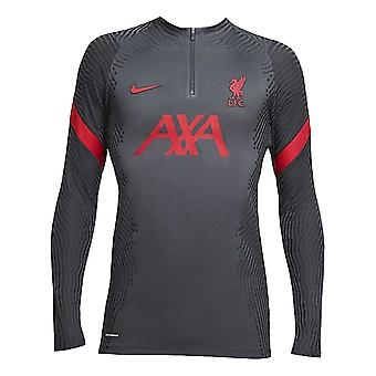 2020-2021 Liverpool Vaporknit Drill Top (Anthracite)