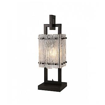Table Lamp Flow 1 Bulb Matte Black 46 Cm