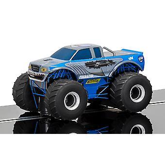 Team Monster Truck Predator (Blue) 1:32 Scalextric Super Resistant Car