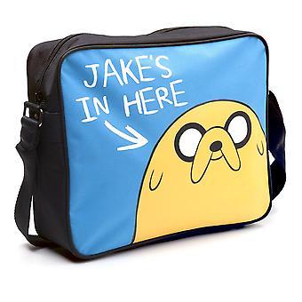 Adventure Time Jake's Aici Messenger Bag Multi-color (MB140311ADV)