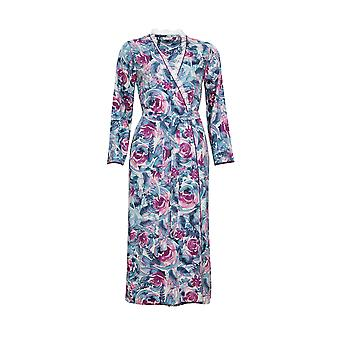 Cyberjammies Nora Rose Jennifer 1448 Mujeres's Purple Floral Print Long Robe