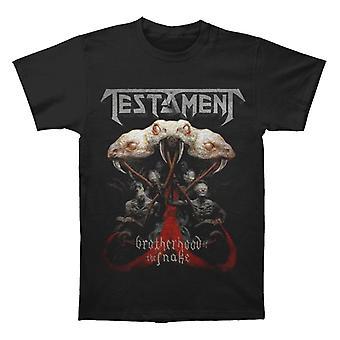 Testament Brotherhood North America 2017 Tour T shirt