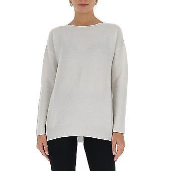 Fabiana Filippi Mad220w063c417vr1 Women's White Wool Sweater