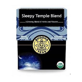 Buddha Teas Organic Sleepy Temple Blend Tea, 18 Bags