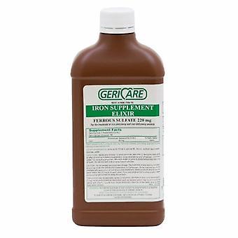 McKesson Mineral Supplement Geri-Care Iron 220 mg Strength Liquid 16 oz., 16 Oz