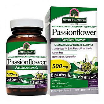 Nature's Answer Passion Flower Gestandaardiseerd, 60 Vcaps