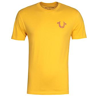 True Religion Lullaby Yellow T-Shirt