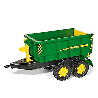 Rolly toys container truck - john deere for 3- 10 years -green