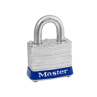 Master Lock Gelamineerd Staal 38mm Padlock 4-Pin - Keyed Alike x 2 MLK3T