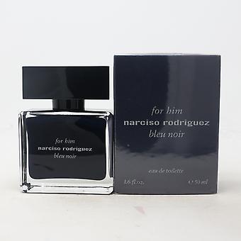 För honom Bleu Noir av Narciso Rodriguez Eau De Toilette 1.6oz Spray ny med box