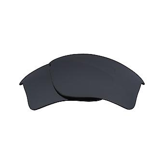 Polarized Replacement Lenses for Oakley Flak Jacket Frame Anti-Scratch Iridium