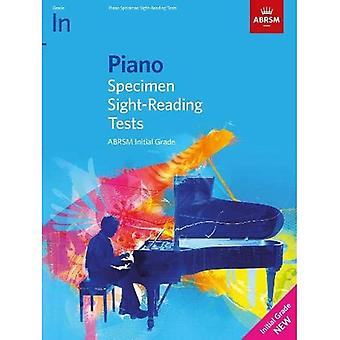 Piano Specimen Sight-Reading� Tests, Initial Grade (ABRSM Sight-reading)