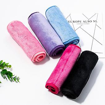 Reusable Eraser Makeup Remover Towels - Make Up Cleaning Fibre Cloth Towel