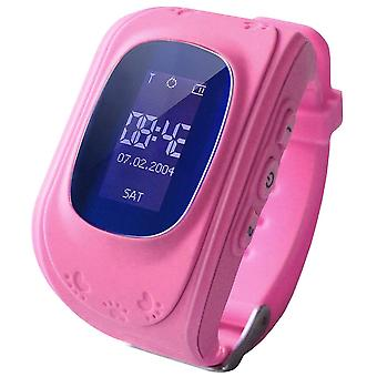 Smartwatch for barn med GPS - rosa