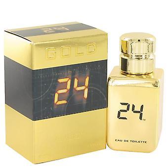 24 Gold The Fragrance Eau De Toilette Spray By Scentstory 1.7 oz Eau De Toilette Spray