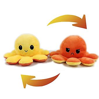 Omkeerbare Flip Octopus Pluche gevuld speelgoed, Soft Animal Home Accessoires, Cute
