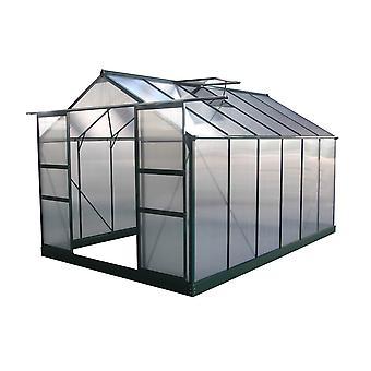 Invernadero para jardín en policarbonato Dahlia verde pino