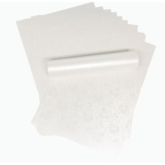 A4 Dandy Valkoinen Broderie Kohokuvio paperi 120gsm