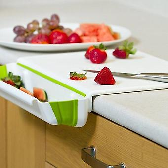 Collapsible Bin & Cutting Board