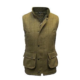 Walker and Hawkes - Mens Tweed Gilet