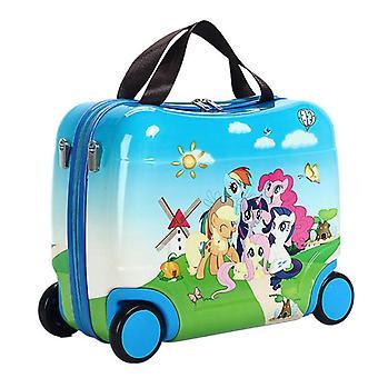 Matkustavat matkalaukkupussit pyörillä