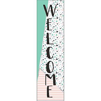 Simply Sassy - Welcome Banner - Vertical