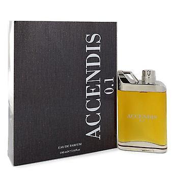 Accendis 0.1 Eau De Parfum Spray (Unisex) By Accendis 3.4 oz Eau De Parfum Spray