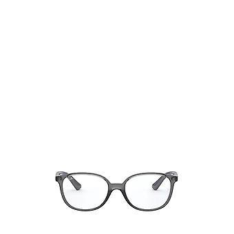 Ray-Ban RY1598 läpinäkyvät harmaat unisex-silmälasit