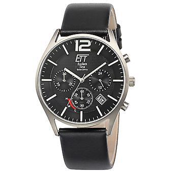 Mens Watch Ett Eco Tech Time EGT-12051-21L, Quartz, 42mm, 5ATM